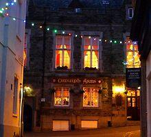 Devon Pub at Night by magicaltrails