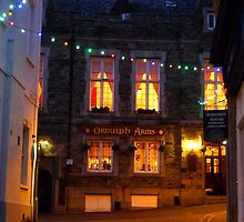 Devon Pub at Night by magicaltrails