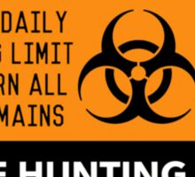 UK Zombie Permit Sticker