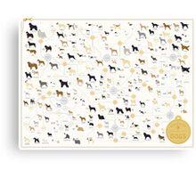 dog timeline merch Canvas Print