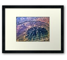 Caldera - Ute Mountain (USA) Framed Print