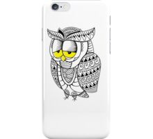 Sleepy Owl 23 iPhone Case/Skin