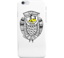 Sleepy Owl 24 iPhone Case/Skin
