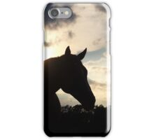 Standing in the twilight iPhone Case/Skin