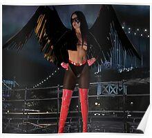 Brandy asThe Raven Poster