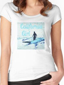 California Girl Women's Fitted Scoop T-Shirt