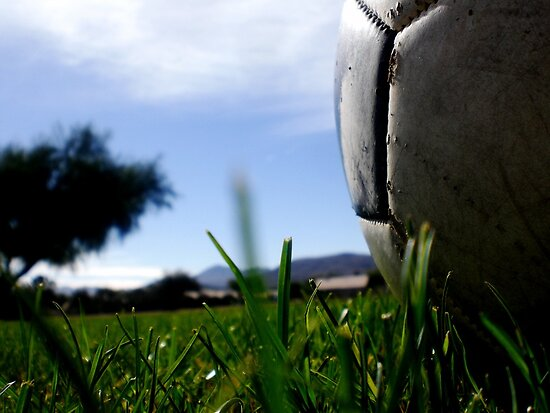 soccer in the sun by melymiranda