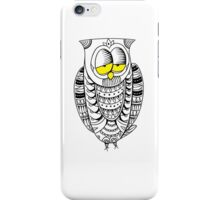 Sleepy Owl 26 iPhone Case/Skin