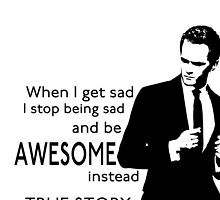 himym Barney Stinson Suit Up Awesome TV Series Inspired Funny  by david212