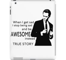 himym Barney Stinson Suit Up Awesome TV Series Inspired Funny  iPad Case/Skin