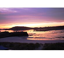 Harbour, Alderney sunrise Photographic Print