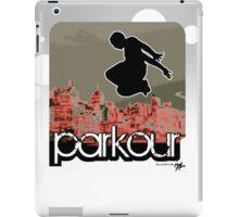 parkour*_red1 iPad Case/Skin