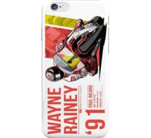 Wayne Rainey - 1991 Paul Ricard iPhone Case/Skin