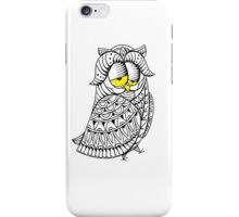 Sleepy Owl 29 iPhone Case/Skin