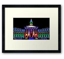 Parade of Lights Origin Framed Print