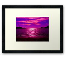 End of a Long Day Framed Print