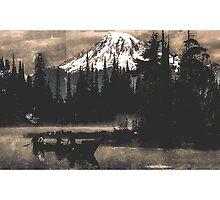 Mt. Tahoma by JTANDKSTUDIOS