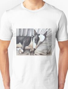 Mini Bulldog Terrier Unisex T-Shirt