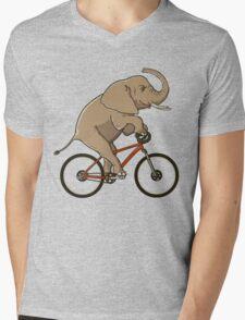 Supersized! Mens V-Neck T-Shirt