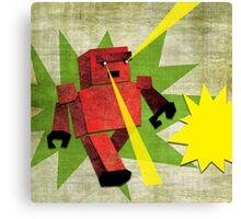 BAD ROBOT Canvas Print