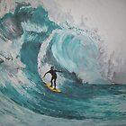 Pipeline Surfing by Jennifer Ingram