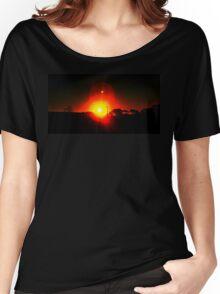 Our Firey Sun Women's Relaxed Fit T-Shirt