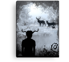 Imbolc - The Horned God Canvas Print