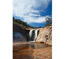 Spring Creek Cascades, Beechworth Photographic Print