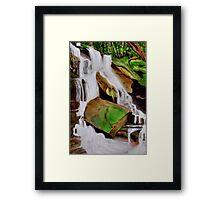 """Somersby Falls, NSW"" Framed Print"