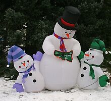 frosty the snowman and pals by vernonite