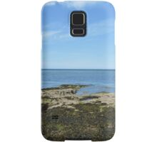 View Of Puffin Island Samsung Galaxy Case/Skin