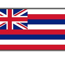 Hawaii, Flag of Hawaii, Hawaiin Flag, State flags of America, USA by TOM HILL - Designer