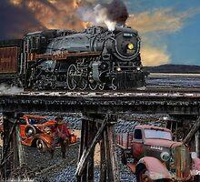 Desert Train by Mike Pesseackey (crimsontideguy)