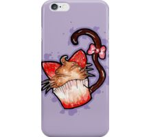 Strawberry Cupcake Kitty! iPhone Case/Skin