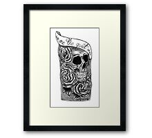 We Are The Quiet Ones Tattoo Framed Print