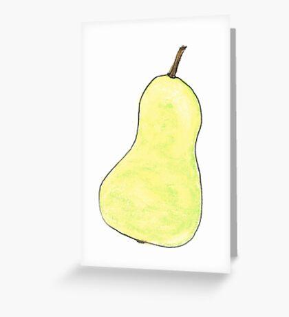 pearishable Greeting Card