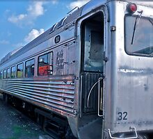 Budd Rail Diesel Car - New York - New Haven & Hartford RR by Jack McCabe
