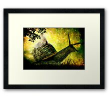Journey to the Dawn of Romance..... Framed Print
