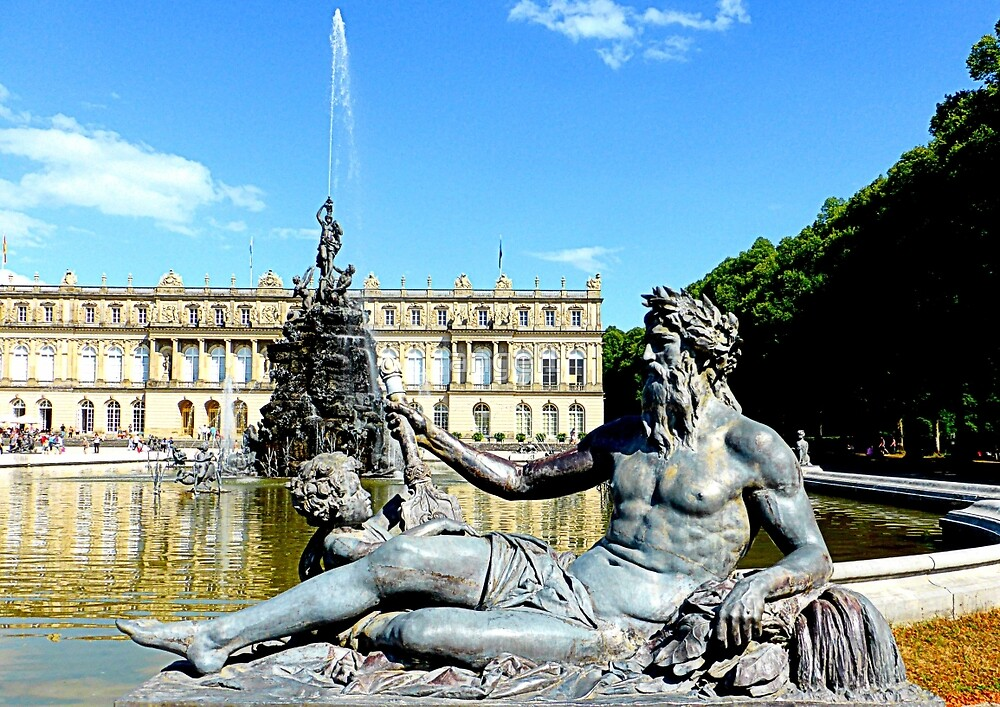 Herrenchiemsee Palace by ©The Creative  Minds