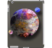 Oil slick Planets iPad Case/Skin