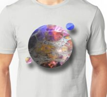 Oil slick Planets T-Shirt