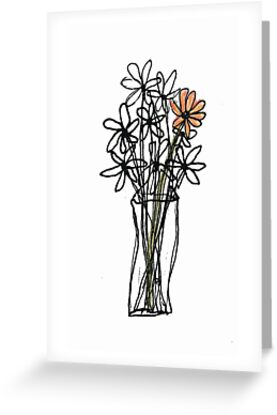 vase with flowers by dthaase