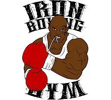 Iron Boxing Gym Photographic Print