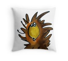The Eyes of the Hedgehog Throw Pillow
