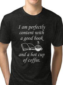 Good Book And Coffee Tri-blend T-Shirt