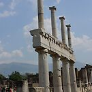 Remains at Pompeii, Italy by Indrani Ghose