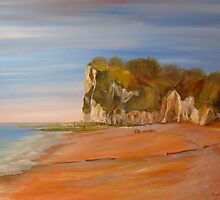 St Margaret's Bay Kent by Beatrice Cloake