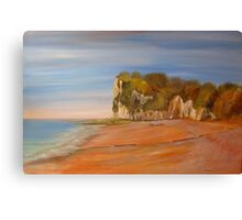 St Margaret's Bay Kent Canvas Print