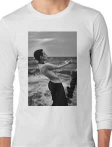 Nude Girl - NudeART Long Sleeve T-Shirt