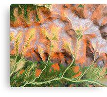 """""""Golden Trees""""  Metal Print"""